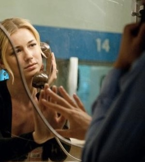 Revenge: Pictured Emily Van Camp as Emily Thorne. Image © ABC/COLLEEN HAYES
