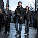 The cast of Falling Skies. Photo by Michael Muller. Image © TNT. All rights reserved.