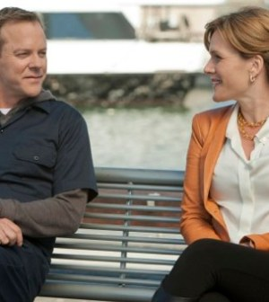 Kiefer Sutherland and Catherine Dent in Touch. ©2012 Fox Broadcasting Co. Cr: Isabella Vosmikova/FOX