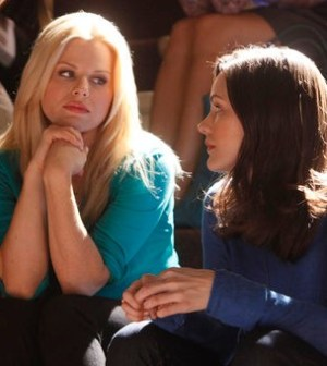 Megan Hilty and Katharine McPhee in Smash. Image © NBC