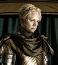 Gwendolyn Christie as Brienne in Game of Thrones. Image © HBO