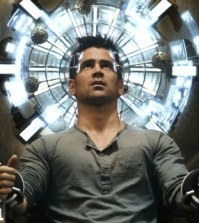 Colin Farrell in Total Recall. Image © 2012 Sony Pictures