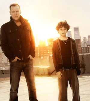 Kiefer Sutherland and David Mazouz in Touch. Photo by Brian Bowen Smith/ © 2012 Fox Broadcasting Co.