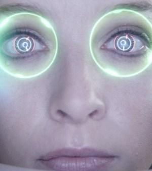 Rachel Nichols as Kiera Cameron in Showcase's Continuum