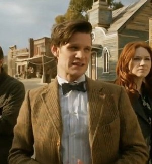 Arthur Darvill, Matt Smith and Karen Gillan in Doctor Who