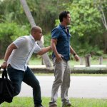 BURN NOTICE -- Episode 610 -- Pictured: Coby Bell as Jesse Porter, Jeffrey Donovan as Michael Westen -- (Photo by Glenn Watson/USA Network)
