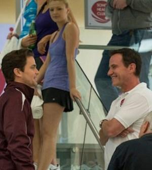 Neal and Peter (Matt Bomer, Tim DeKay), together again. (Photo by David Giesbrecht/USA Network)