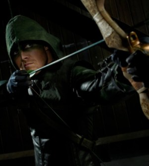 Stephen Amell in Arrow. Image © CW