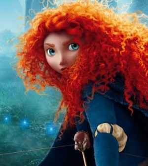 Merida, the lead character from Pixar's latest animated feature, Brave. (Image © Disney)
