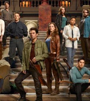 NBC's Revolution Cast. (Photo by: Nino Munoz/NBC)