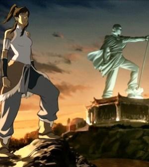 The Last Airbender: Legend of Korra (Image © Nickelodeon)