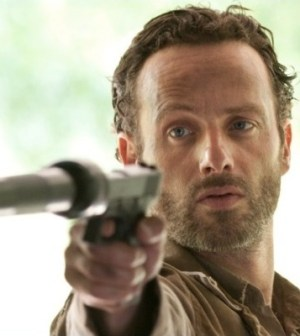Rick Grimes (Andrew Lincoln) in Season 3. Photo by Gene Page/AMC