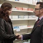 Amy Acker and Michael Emerson in CBS' Person of Interest