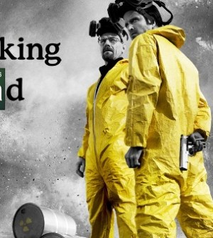 Walter White (Bryan Cranston) and Jesse Pinkman (Aaron Paul) in AMC's Breaking Bad (Image © AMC)