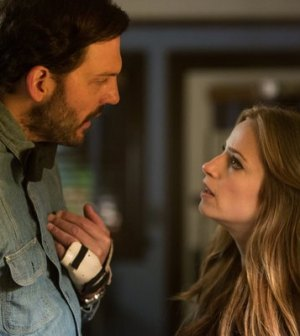 Silas Weir Mitchell and Jamie Ray Newman in Grimm. Image © NBC.