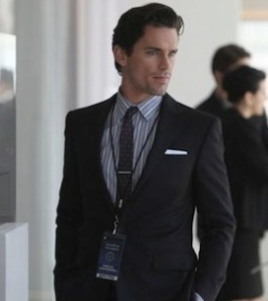 Matt Bomer as Neal Caffrey in WHITE COLLAR 4.10 'Vested Interest' (Photo by Eric Liebowitz/USA Network)