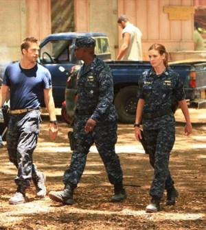 SCOTT SPEEDMAN, ANDRE BRAUGHER, DAISY BETTS. (ABC/MARIO PEREZ)