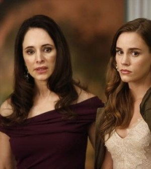 (ABC/VIVIAN ZINK) Madeleine Stowe and Christa B. Allen