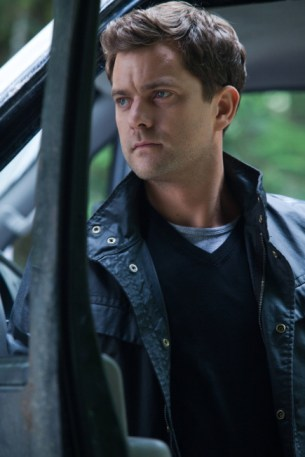 Peter (Joshua Jackson) in one of many thoughtful moments from 'The Recordist' (Photo by Liane Hentscher/© FOX)
