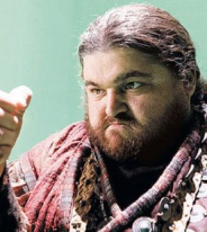 Jorge Garcia as the Giant in ABC's Once Upon a Time. Image © ABC Television Network.