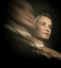 Jessica Lange as Sister Jude in American Horror Story. Image: Frank Ockenfels © FX