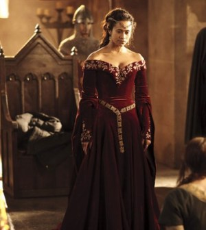 Angel Coulby as Gwen. Image © BBC.