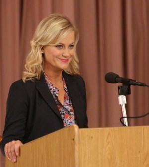 Amy Poehler as Leslie Knope -- (Photo by: Danny Feld/NBC)