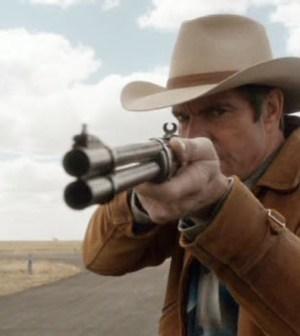 Dennis Quaid as Sheriff Lamb. Image © CBS