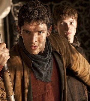 Colin Morgan as Merlin. Image © BBC