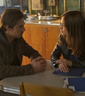 Jay Ryan and Kristin Kruek in Beauty and the Beast. Image © The CW Network