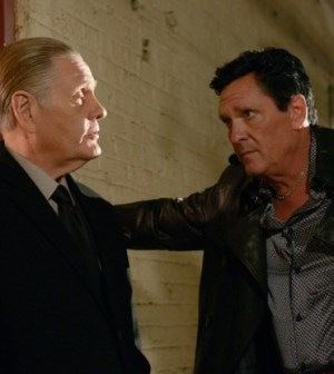 William Forsythe (L) and Michael Madsen (R) in THE MOB DOCTOR. ©2012 Fox Broadcasting Co. CR: Nathan Bell/FOX