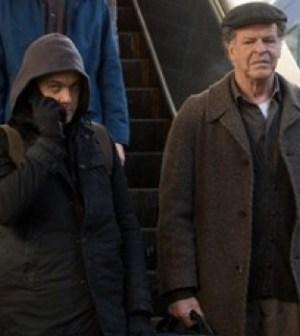 Joshua Jackson and John Noble in Fringe. Image © FOX