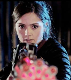 Jenna-Louise Coleman as Clara Oswald in DOCTOR WHO (Image © BBC)