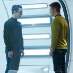 Benedict Cumberbatch as John Harrison, Chris Pine as Captain James Kirk (Photo © Paramount Pictures)
