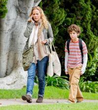 Jake (David Mazouz, R) leads Lucy (Maria Bello, L). ©2013 Fox Broadcasting Co. Cr: Isabella Vosmikova/FOX