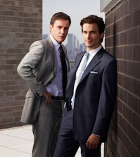 Tim Dekay as Peter Burke, Matt Bomer as Neal Caffrey -- Photo by: Eric Ogden/USA Network