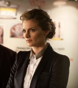 Stana Katic as Beckett. Image © ABC