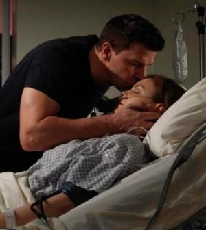 "David Boreanaz and Emily Deschanel in Bones' ""The Shot in the Dark"" Image © FOX"
