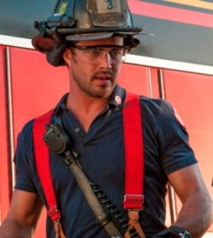 Taylor Kinney in Chicago Fire. Image © NBC
