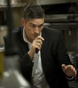 Jim Caviezel as Reese. Image © CBS