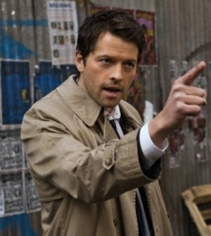 Misha Collins as Castiel. Image © CW Network. Photo by Jack Rowland.