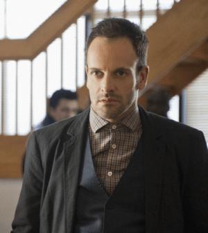 Jonny Lee Miller as Sherlock Holmes in Elementary. Image © CBS