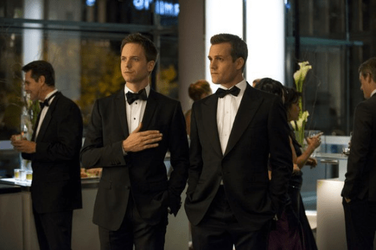 Patrick J. Adams and Gabriel Macht in Suits. Image © USA