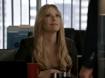 Emily Procter as sweet-on-the-outside Agent Amanda Calloway (Image © USA Network)