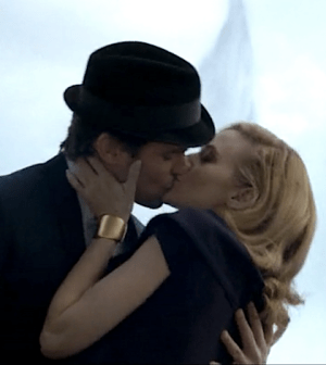 Matt Bomer and Hilarie Burton as Neal Caffrey and Sara Ellis (Image © USA Network)