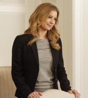 Emily VanCamp as Emily Thorne. Image © ABC