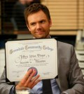 Joel McHale as Jeff Winger -- (Photo by: Vivian Zink/NBC)