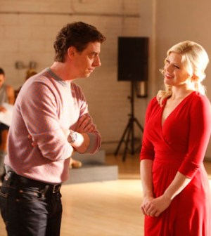 Christian Borle (Tom) and Megan Hilty (Ivy) (Photo credit: Will Hart / NBCUniversal)
