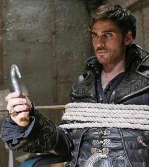 Colin O'Donnoghue as Hook. Image © ABC