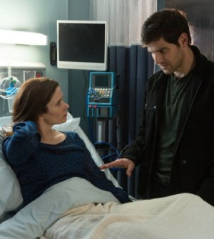 (l-r) Bitsie Tulloch as Juliette Silverton, David Giuntoli as Nick Burkhardt-- (Photo by: Scott Green/NBC)